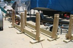 7. Custom Table Bases Being Assembled
