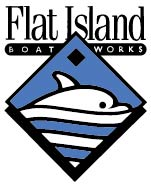 Flat Island Boatworks, LLC Logo